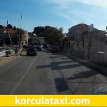Taxi from Korcula to Lumbarda