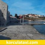 Taxi from Korcula Town to Vela Przina and Bilin Zal Beach