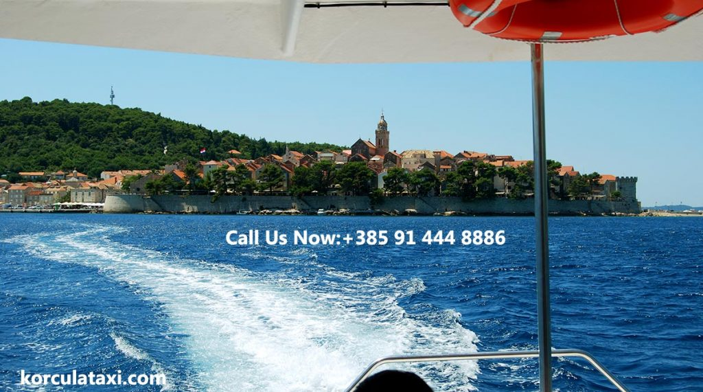 Fast water taxi boat