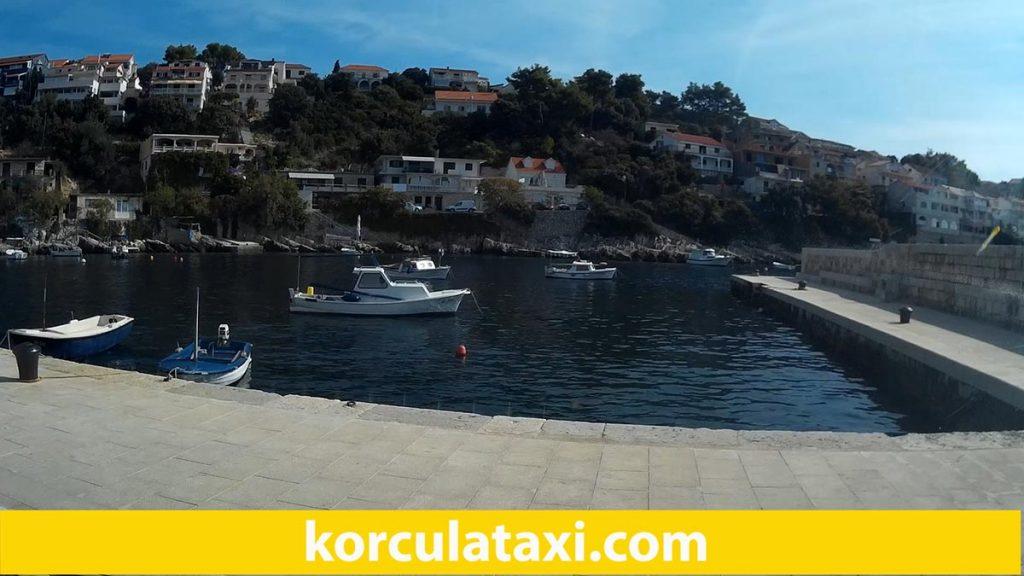 Small harbour in Zavalatica