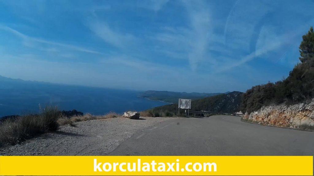 Road from Pupnatska Luka towards Cara